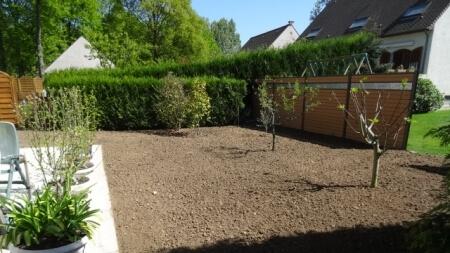 Espaces verts Enlèvement et remplacement de pelouse